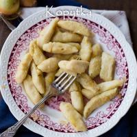 Polish gnocchi, otherwise known as Kopytka and how to deal with a construction site