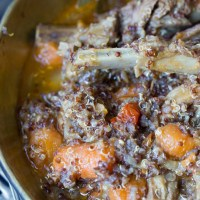 Lamb & Red Quinoa Stew