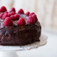 Last chance decadent chocolate cake- back to challenge mood again!