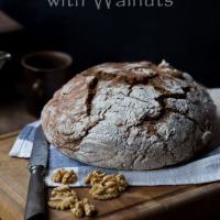 Guinness Bread with Walnuts and Je suis Charlie...