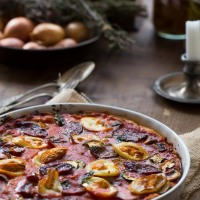 Rustic Pizza- Surprise Number 2 and let's party at the Fiesta Friday!