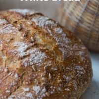 Saturday white bread- 90% white wheat flour- Ken Forkish method/ 1 bread and two surprises