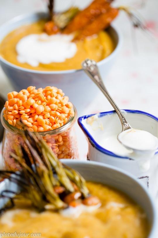Red lentils soup 8